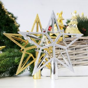 Christmas Star Topper - Duo Star Colors
