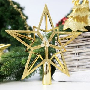 Christmas Star Topper - Duo Star Gold