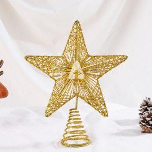 Christmas Star Topper - Gold Star Topper