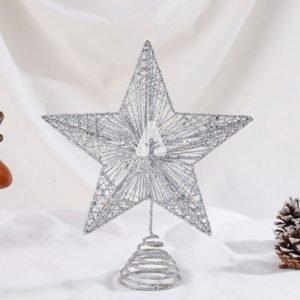 Christmas Star Topper - Silver Star Topper