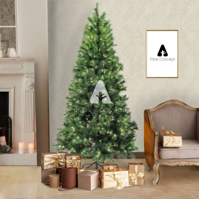 Granfeur - Premium Scotch Pine Artificial Christmas Tree - display