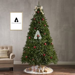Impefir - Premium Grand Fir Artificial Christmas Tree - display 1