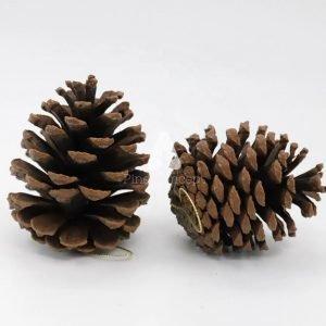 10cm Pine Cone Ornament