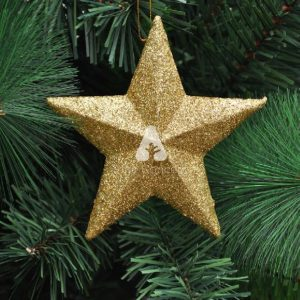 Angelica - Gold Christmas Tree Star Ornament