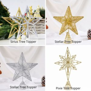 Christmas tree topper options
