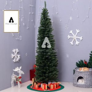 FirPact Artificial Christmas Tree Decorated