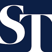 straits time logo