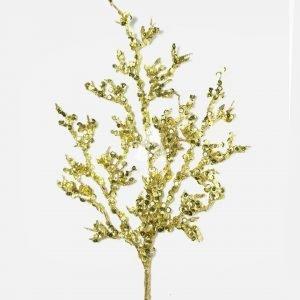 Sparkle Tiding Gold Tree Spray