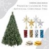 Firneese Christmas Bundle - Premium Cashmere Pine Artificial Christmas Tree